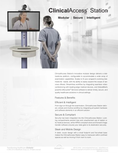 ClinicalAccess® Station