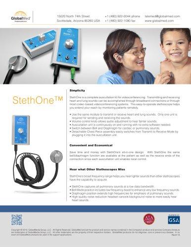 StethOne? Telephonic Stethoscope - CareToneUltra