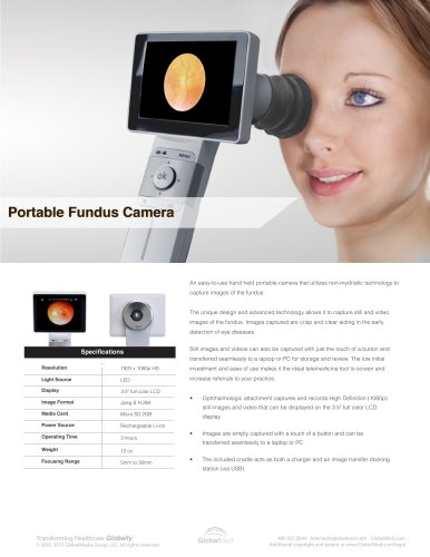 Video Ophthalmoscope