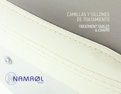 CAMILLAS Y SILLONES DE TRATAMIENTO TREATMENT TABLES & CHAIRS