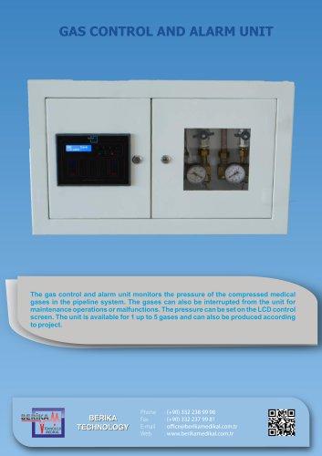 Gas Control and Alarm Unit