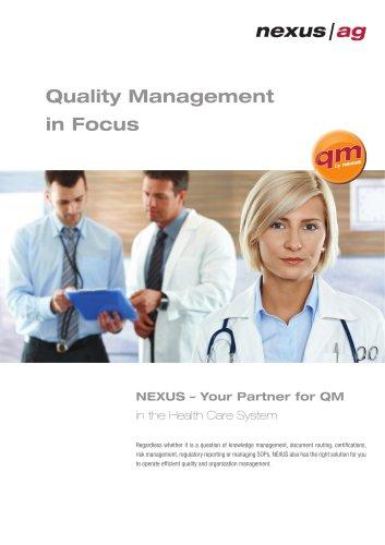 Quality Management in Focus