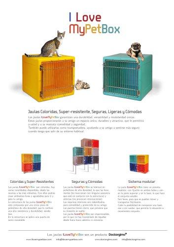 I Love My Pet Box: Jaulas Veterinarias Plasticas