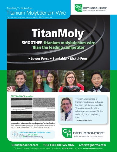 TitanMoly™ – Nickel-Free