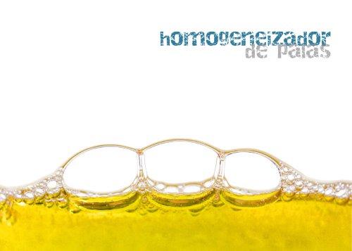 Homogeneizador de palas