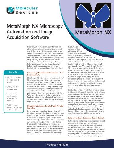 MetaMorph NX