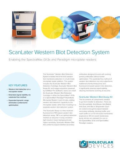 ScanLater Western Blot Detection System