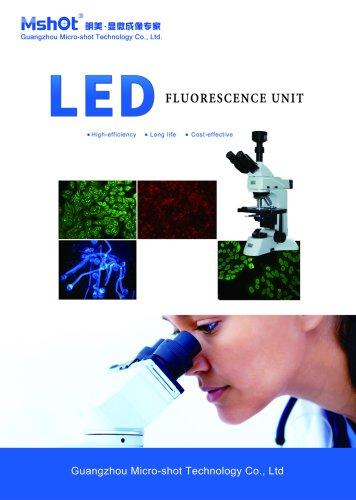 LED fluorescence illumination