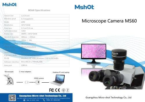 MS60 scientific camera