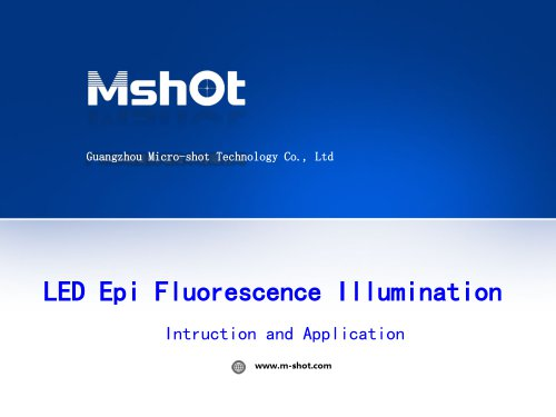 MSHOT LED fluorescence illumination