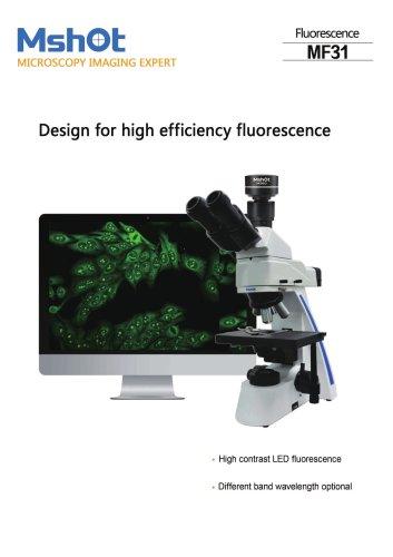 Mshot MF31 LED fluorescence microscope catalogue