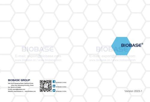 BIOBASE Air Protection Products Catalogue