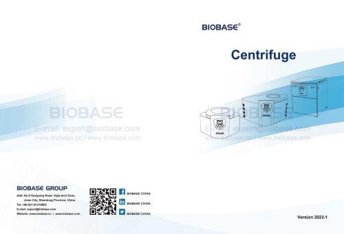 BIOBASE Analytical Equipments Catalogue