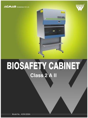 Biosafety Cabinet Class 2 A II (ACM-2200A)