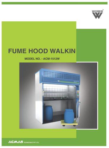 Fume Hood Walkin (ACM-1512W)