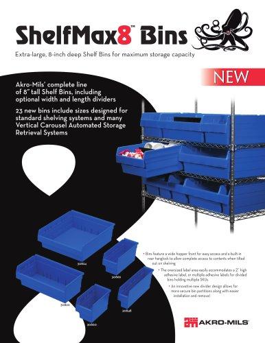 ShelfMax8  Bins