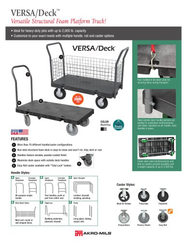 VERSA/Deck Platform Truck