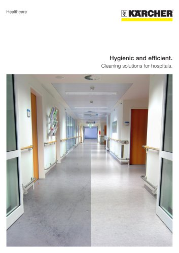 Cleaning Solutions for your Healthcare business