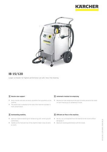 DRY ICE BLASTER IB 15/120
