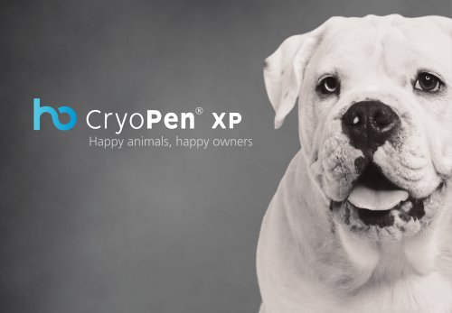 CryoPen XP - Veterinary extended business card