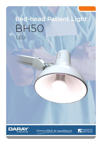 BH50 - LED Bed-head / Reading Light