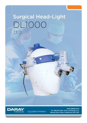 DL1000 - LED Surgical Head Light