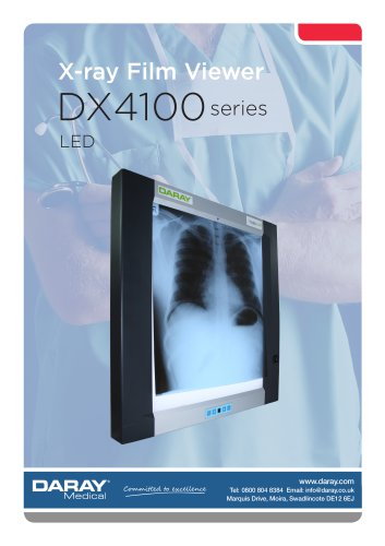 DX4100LED - X-Ray Film Viewer