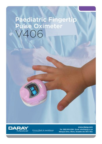 V406 - Paediatric Fingertip Pulse Oximeter