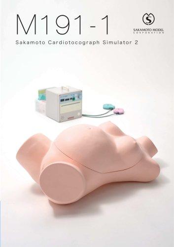 M191-1 Sakamoto Cardiotocograph Simulator 2