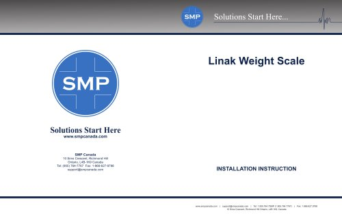 LINAK WEIGHT SCALE