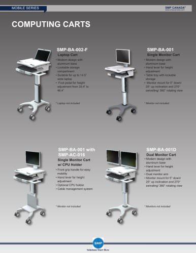 Single Monitor Carts