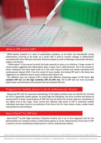 Nano-Check hs-CRP