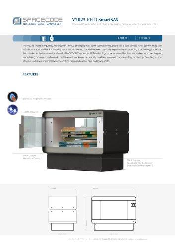 V2025 RFID SmartSAS