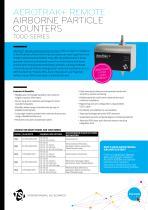 AeroTrak Plus Remote Airborne Particle Counters 7000 series