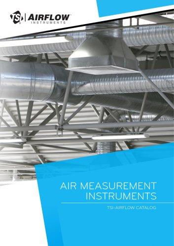 Air Measurement Instruments - TSI/Airflow catalog