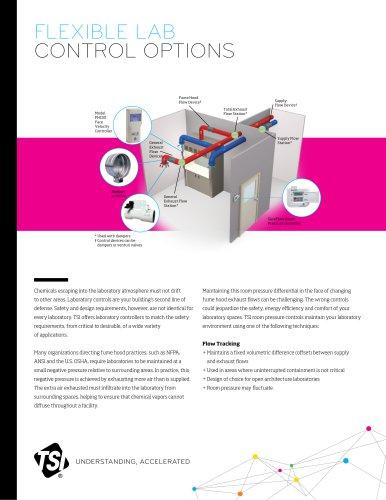 Flexible lab control options