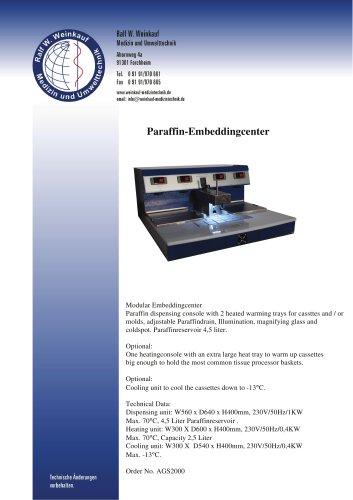 Paraffin-Embeddingcenter
