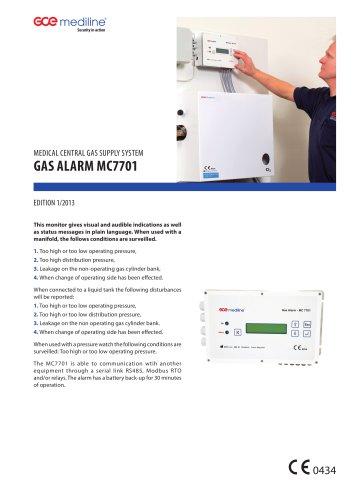 GAS ALARM MC7701