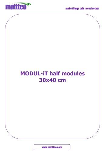MODUL-iT half modules 30x40 cm