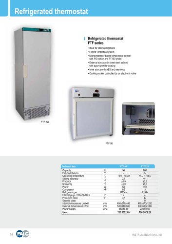 refrigerated thermostat