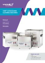VWR ®  ultR asound  cleaning machines
