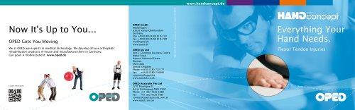 Patient Booklet Flexor Tendon Injury