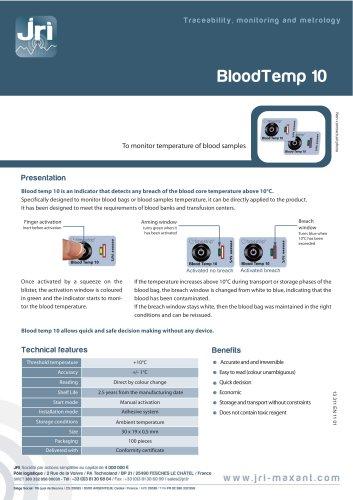 BLOODTEMP 10