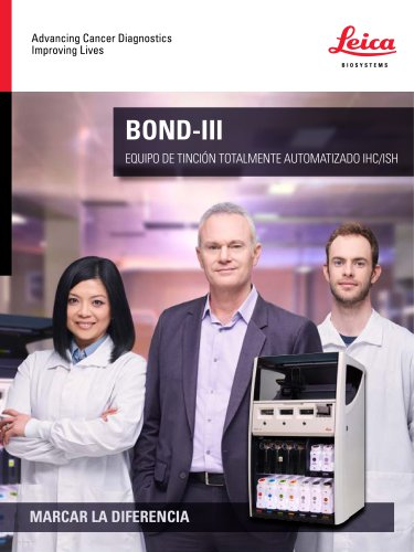 BOND-III EQUIPO DE TINCIÓN TOTALMENTE AUTOMATIZADO IHC/ISH