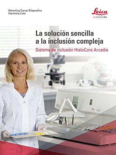 Sistema de inclusión HistoCore Arcadia