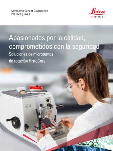 Soluciones de microtomos de rotación HistoCore