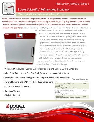 Refrigerated Incubator Info Sheet