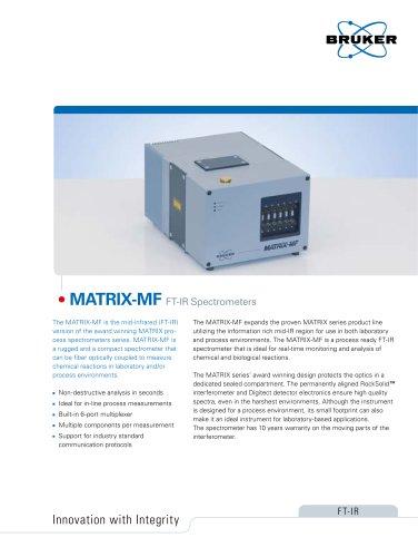 MATRIX-MF FTIR Spectrometer