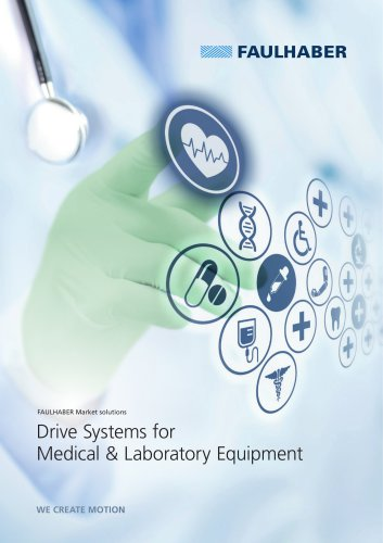 Drive Systems for Medical & Laboratory Equipment