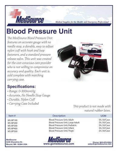 Blood Pressure Unit
